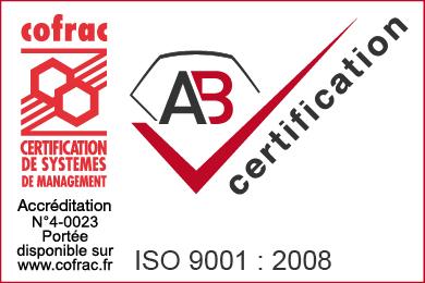 RCY est certifié ISO 9001